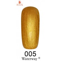Гель-лак F.O.X Waterway ® №005, 6 мл