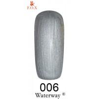 Гель-лак F.O.X Waterway ® №006, 6 мл