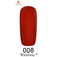 Гель-лак F.O.X Waterway ® №008, 6 мл