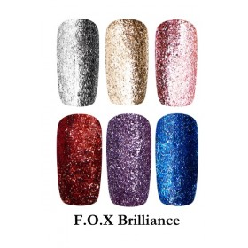 Гель-лак F.O.X  Brilliance ® коллекция со слюдой