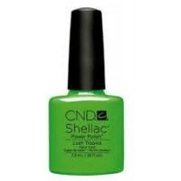 Гель-лак CND Shellac Lush Tropics (насыщенный зеленый, эмаль), 7,3 мл