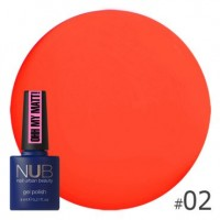 Гель-лак NUB Ohh My Matt OM 02, 8 ml
