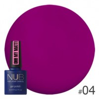 Гель-лак NUB Ohh My Matt OM 04, 8 ml