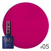 Гель-лак NUB Ohh My Matt OM 05, 8 ml