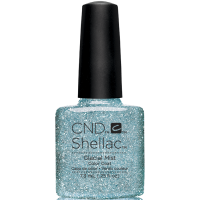 Гель-лак CND Shellac Aurora Glacial Mist (бирюзово-голубой с глиттером), 7,3 мл