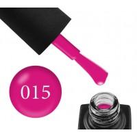 Гель-лак GO 015 (насыщенный розовый, эмаль), 5,8 мл