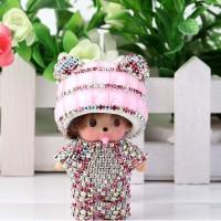 Брелок Manchichi Панда розовый