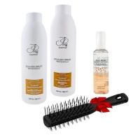 Набор Jerden Proff для сухих и поврежденных волос, расческа в подарок