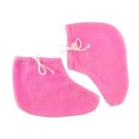 Носочки для парафинотерапии Jerden Proff флисовые, розовые