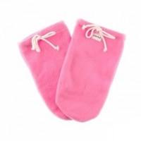 Варежки для парафинотерапии Jerden Proff флисовые, розовые