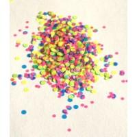 Конфетти-камифубики неоновые в банчке