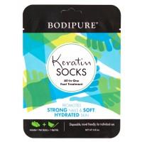 Кератиновые носочки для педикюра BODIPURE (пилочка в подарок)