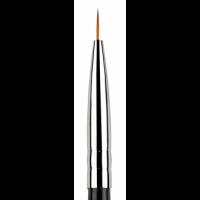 Пензлик для розпису в тубусі №1,5 KODI (нейлон, дерев'яна чорна ручка)