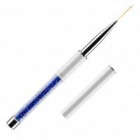 Кисть для росписи в тубусе №00/4 KODI (нейлон; ручка: метал, акрил)