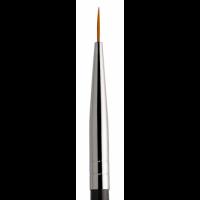 Кисть для росписи в тубусе №00 KODI (нейлон, деревянная черная ручка)
