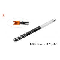 """Кисть для дизайна F.O.X №11 """"Smile"""" для прорисовки """"френча"""" большая"""