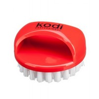 Щеточка от пыли круглая (красная) KODI