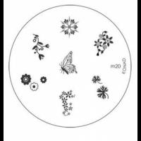 Диск для стемпинга Konad Image Plate M020