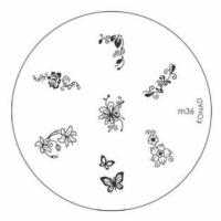 Диск для стемпинга Konad Image Plate M036