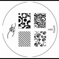 Диск для стемпинга Konad Image Plate M065