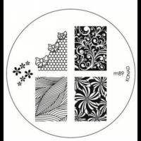 Диск для стемпинга Konad Image Plate M089