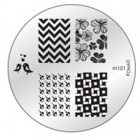 Диск для стемпинга Konad Image Plate M101