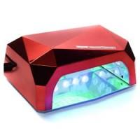 Лампа КРИСТАЛЛ LED/ UV CCFL-5 36W, цвет: красный