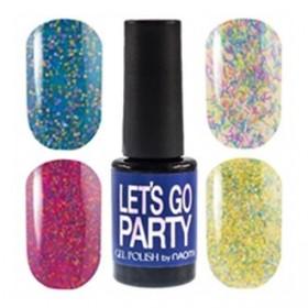 Гель-лак Naomi LETS GO PARTY, 6 мл