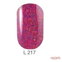 Гель-лак Naomi Lets Go Party 217, 6 мл