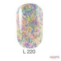 Гель-лак Naomi Lets Go Party 220, 6 мл