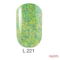 Гель-лак Naomi Lets Go Party 221, 6 мл