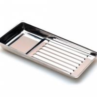 Лоток металлический для стерилизации и хранения инструментов 195х90 мм KODI Professional