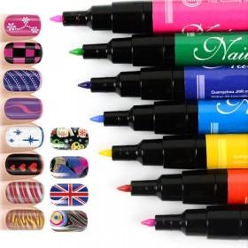 Маркеры для дизайна ногтей Nail Art Pen
