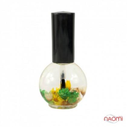 """Цветочное масло для кутикулы Naomi """"Лимон"""" 15 мл"""