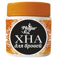 Хна для бровей ТМ Mayur Черная 25г