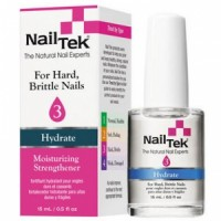 Nail Tek Moisturizing Strengthener 3 Hydrate Увлажняющая терапия для ломких, сухих ногтей