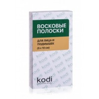 Восковые полоски для депиляции лица и подмышек (5х10 см) Kodi Professional