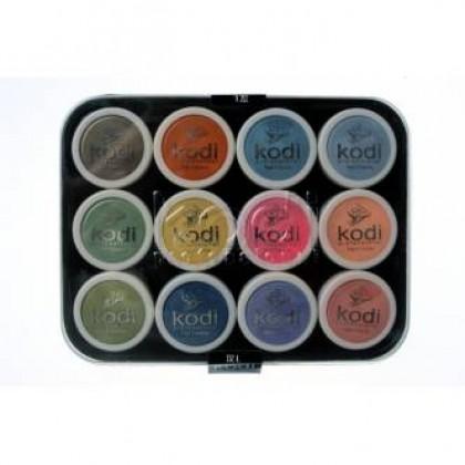 Набор цветных акрилов KODI L4 12 шт.