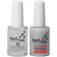 АКЦИЯ! Nail Tek 3 + Foundation 3 набор для сухих ломких ногтей