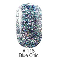 Гель лак 118 Blue Chic Naomi 6ml