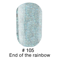 Гель лак 105 End of the rainbow Naomi 6ml