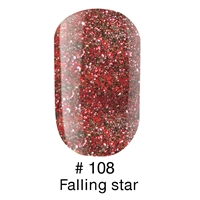 Гель лак 108 FALLING STAR Naomi 6ml