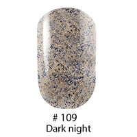 Гель лак 109 Dark night Naomi 6ml