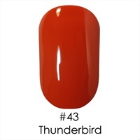 Гель лак 43 Thunderbird Naomi 6ml