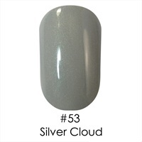 Гель лак 53 Silver Cloud Naomi 6ml