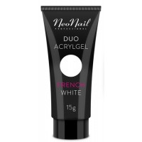 Акрил-гель Duo Acrylgel NeoNail French White (белый) 7 г, 15 г