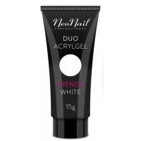 Акрил-гель Duo Acrylgel NeoNail French White (білий), 15 г