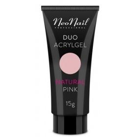 Акрил-гель Duo Acrylgel NeoNail Natural Pink (натуральный розовый) 7 г, 15 г