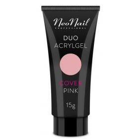 Акрил-гель Duo Acrylgel NeoNail Cover Pink (камуфлирующий розовый) 7 г, 15 г