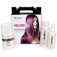 Кератиновый набор для домашнего глубокого увлажнения и восстановления волос NIRVEL